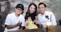 Hải Băng lần đầu đưa con gái với diễn viên Thành Đạt dự sự kiện