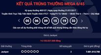 Hai người trúng độc đắc chia 14 tỉ mua vé số ở Hà Nội và TP.HCM