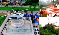 Chơi kiểu 'khác người', đại gia Việt trưng xe tăng, máy bay trong vườn nhà