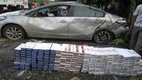 Tài xế lái ôtô chở thuốc lá lậu tông chết thiếu nữ rồi bỏ trốn