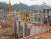Quy hoạch mặt bằng xây dựng công trình nhà máy thủy điện Sông Lô 8A