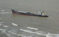 Lên phương án trục vớt tàu VTB 26 bị chìm ở Nghệ An