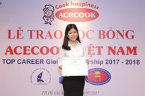Acecook Việt Nam trao học bổng 30.000 USD cho sinh viên