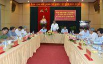 Phó Thủ tướng Trương Hòa Bình làm việc với tỉnh Quảng Ngãi