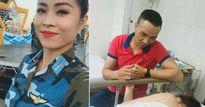 MC Hoàng Linh bất ngờ nhập viện, nắm chặt tay bạn trai mới không rời