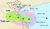 Chiều tối nay, bão số 4 đổ bộ các tỉnh từ Hà Tĩnh đến Quảng Trị