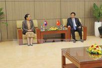 Tăng cường hợp tác giữa Văn phòng Quốc hội Việt Nam - Lào