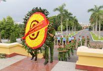 Học viện CSND dâng hương tại Nghĩa trang Mai Dịch