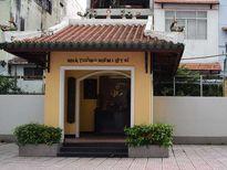 Nhà tưởng niệm liệt sĩ trong trụ sở Cảnh sát PCCC TP.HCM