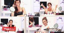 Thử sức làm beauty blogger, top 6 tiết lộ 20 màu son lì 'gây bão' trong The Face tập 8