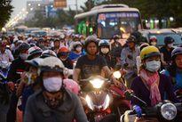 """Khó """"giải cứu"""" ùn tắc ở khu vực sân bay Tân Sơn Nhất"""