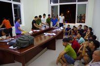 14 tài xế đánh bạc trên điện thoại tại Bến xe Hà Giang