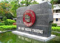 Điểm chuẩn Đại học Ngoại thương 2017