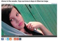 Sống sót sau 6 ngày lạc trong rừng Siberia