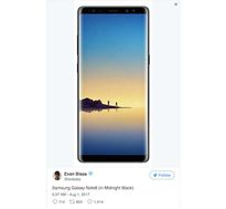 Galaxy Note 8 lộ ảnh chính thức