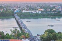 Khôi phục ban công ngắm cảnh trên cầu Trường Tiền ở Huế