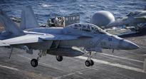 Nhóm tàu sân bay Mỹ xuất kích chống IS ở Syria