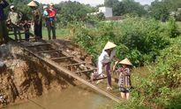 Thanh Hóa: Chính quyền xã nhận thiếu sót và làm lại cầu cho dân