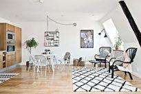 Căn hộ 36m² đẹp như tranh vẽ mà vẫn đầy đủ các phòng chức năng