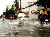 Cảnh báo ngập lụt tại một số khu vực nội thành Hà Nội