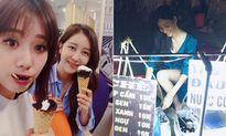 Sao Việt 4/8: Hari Won khoe chị gái xinh đẹp, Hoàng Thùy bán chè đậu đen