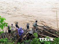 Điện Biên đã tìm thấy thi thể cháu bé bị nước lũ cuốn trôi