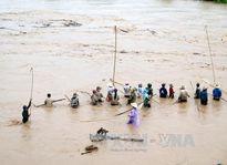 Điện Biên: Tìm thấy thi thể cháu bé bị nước lũ cuốn trôi khi qua suối
