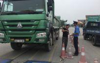Giăng lưới chặn xe quá tải trên mọi cung đường Bắc Ninh