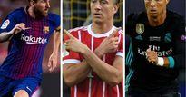 Đọ tam tấu châu Âu: Messi, Ronaldo phải nể bộ ba 'S-M-L'