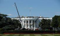Cận cảnh quá trình tu sửa Nhà Trắng ở Mỹ
