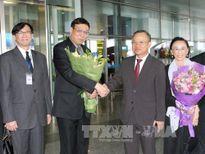 Chủ tịch Hội đồng Lập pháp Quốc gia Thái Lan thăm chính thức Việt Nam