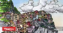 Chàng trai đi du lịch khắp thế giới và vẽ lại những thành phố mà anh đi qua
