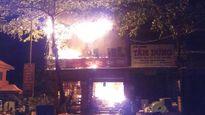 Quảng Trị: Cháy lớn tại cửa hàng kinh doanh đồ điện nước