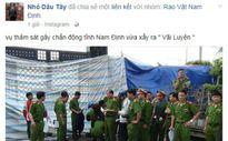 Công an Nam Định bác tin đồn thảm án 8 người chết
