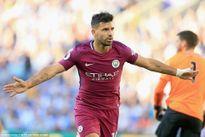 Aguero lập công, Man City đánh bại 'tí hon' Brighton & Hove Albion