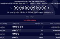 Vé trúng Jackpot trị giá 24 tỷ phát hành tại Tp. Hồ Chí Minh