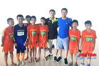 Tuyển U11 PTF Hà Tĩnh vào tứ kết Giải Bóng đá Nhi đồng toàn quốc