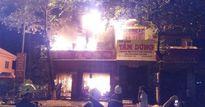 'Bà hỏa' thiêu rụi cửa hàng điện máy trong đêm