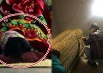 Chồng tai nạn chết ngay đêm tân hôn, vợ đau lòng trải chiếu ngủ cạnh quan tài