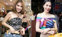 Sao Việt chứng minh một chiếc khăn có thể biến thành cả chục kiểu áo