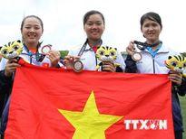 SEA Games 29: Nghị lực tuyệt vời của 3 nữ cung thủ Việt Nam
