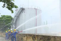 Huyện Thường Tín: Diễn tập phòng cháy chữa cháy tại kho xăng