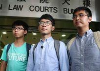 Hong Kong kết án tù ba thủ lĩnh biểu tình