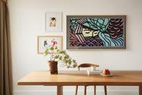 Nghệ thuật trang trí phòng khách khiến giới trẻ mê mẩn