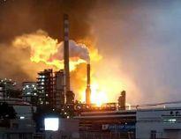 Nổ lớn tại nhà máy hóa dầu Trung Quốc