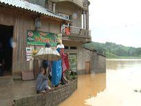 Vùng trũng Nấm Lư bị ngập lụt nặng do mưa lớn
