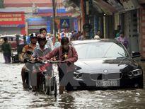 Thời tiết cuối tuần: Nhiều khu vực tiếp tục có mưa to