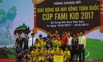 Sông Lam vô địch giải bóng đá Nhi đồng toàn quốc