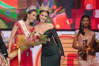 'Thưởng nóng' 1 bao gạo cho Hoa hậu hòa bình Campuchia 2017 tại lễ đăng quang