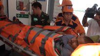 Thuyền viên Ấn Độ bị nạn trên biển đã được cấp cứu kịp thời